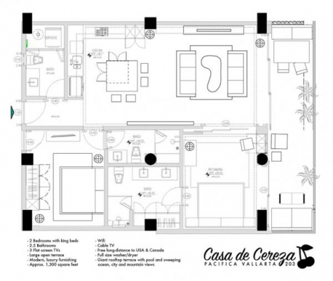 Casa de Cereza-Pacifica 41